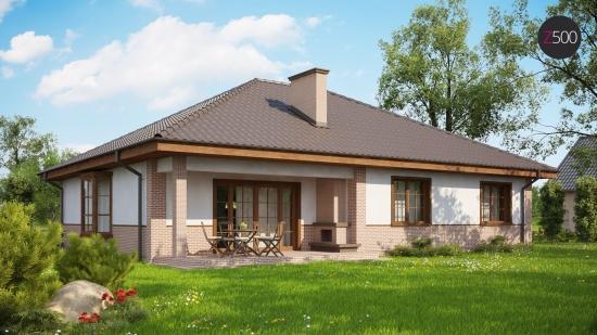проект дома 134 м2 (z-10) 12400 грн.