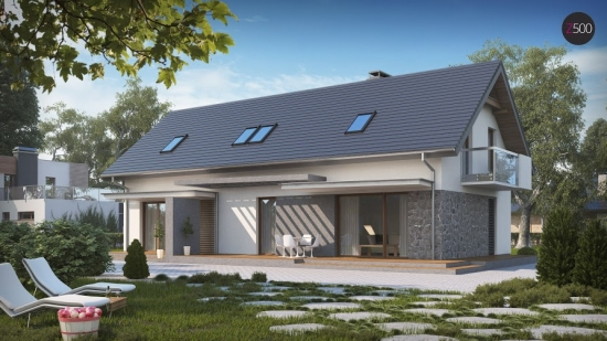 проект дома 184 м2 (z184)  15700 грн