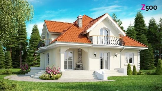 проект дома 186 м2 (Z18) 15800 грн.