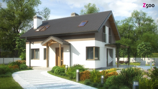 проект дома 116 м2 (z233) 7900 грн.