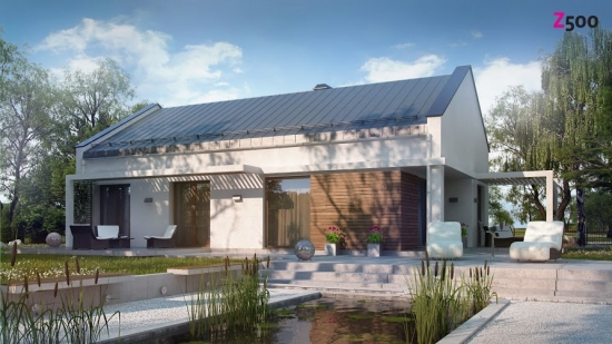 проект дома 121 м2 (Z258) 10200 грн.