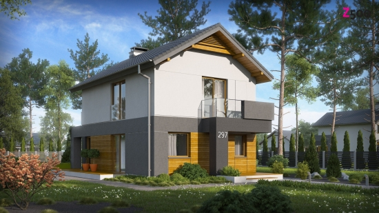 проект дома 94м2 (z297) 9500 грн.