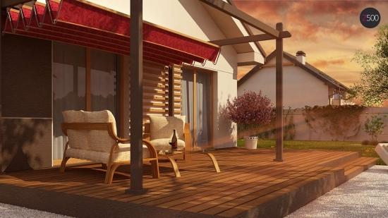 проект дома 89 м2 (z329) 8900 грн.