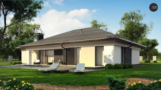 проект дома 197 м2 (Z380) 12900 грн.
