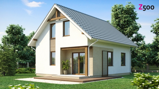 проект дома 92 м2 (Z71) 10200 грн.