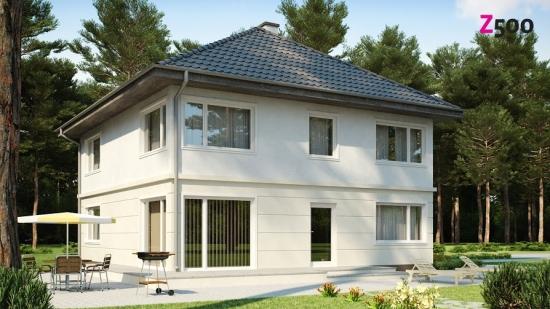 проект дома 231 м2 (zx10) 14700 грн