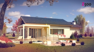 проект дома 105 м2 (Z259) 9200 грн.
