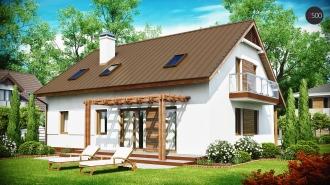 проект дома 190 м2 (z133) 9400грн