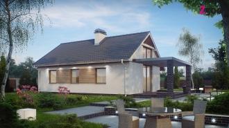 проект дома 62 м2(z139) 7200 грн.