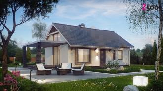 проект дома 62 м2(z139) 9200 грн.
