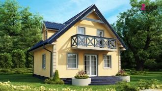 проект дома 107 м2 ( z-1) 12500 грн.