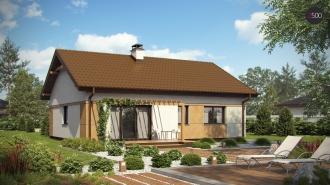 проект дома 78 м2 (z253) 8200 грн.