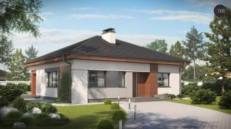 проект дома 94 м2 (Z273) 9500 грн.