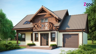 проект дома 133 м2 (z33) 7500 грн.