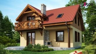 проект дома 112 м2 (Z3) 7900 грн.