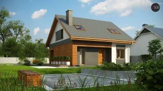 проект дома 148 м2 (z62A minus) 9100 грн.