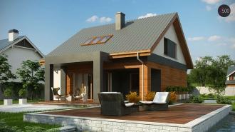 проект дома 148 м2 (z62A minus) 14100 грн.