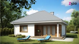проект дома 104 м2 (Z64) 9200 грн.
