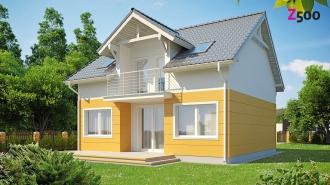 проект дома 127 м2 (z65) 8600 грн.