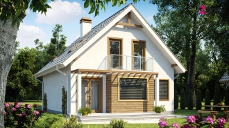 проект дома 127 м2 (z99) 11300 грн.
