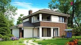 проект дома 163 м2 (Zx24) 14600 грн.