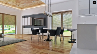 проект дома 86 м2 (Zx105) 9400 грн.