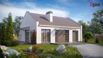 проект дома 78 м2 (z252) 9200 грн.