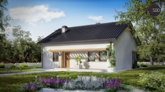 проект дома 110 м2 (Z261) 9500 грн.