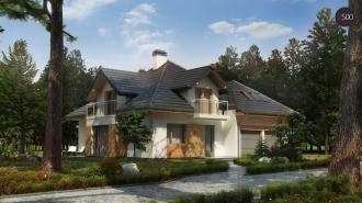 проект дома 239 м2 (z270) 11100 грн.