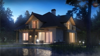 проект дома 239 м2 (z270) 14100 грн.