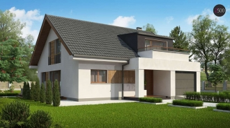 проект дома 220 м2 (z331) 10900 грн.